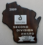 Concert - Annual Wood Plaque