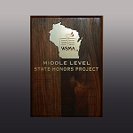 Middle Level Honors Perpetual Plaque