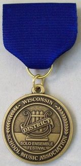 Class A, Division I - District Medal